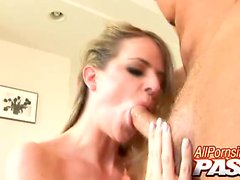 Anita Blue is a pretty blonde girl with a body that I'm