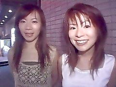 cute Asian duo gets kinky and stupid in club-by PACKMANS