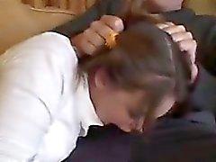 Babysitter zu dritt Holz mit einem Paar
