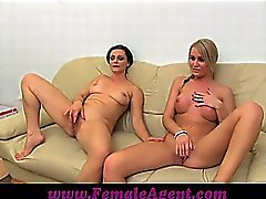 FemaleAgent Let's wank together