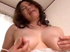 Big tit brunette angel wants to get off