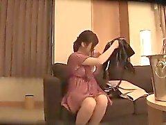BF - kolmesataaviisikymmentäneljä Orjuus Nainen Tits en Cup kouristukset SEX Nana Aoyaman