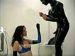 Slave saa hänen ass porattuwc