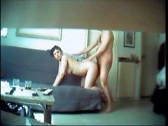 Infiel esposa cogido en cámara oculta