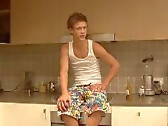 18летняя str8 Aussie спортсмен становится доить геи