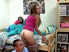 Young student fucking babysitters