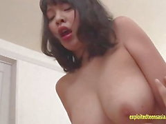 Jav Babe Yoko Big Ass Big Tits Fucks On The Floor Uncensored