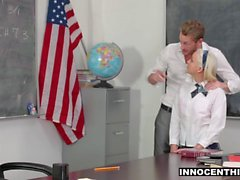 InnocentHigh - Naughty Schoolgirl Is A Teachers Pet