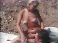 John Holmes with Blonde Model - Monstercock