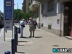 Chick Flashing Her Privates In Public