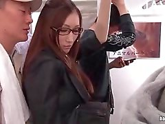 Hot Japanese Babe Stroked In Public