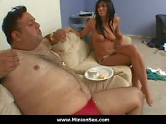 The Minion - Fat guy with small dick fuck bitches and eat food 07
