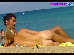 NUDIST Beach Couples Voyeur Amateurs Spy Video