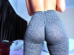 Twerking In Tights horny
