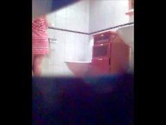 Retrete hijo Adulto la ducha gatito culo cámara espía escondido voyeurismo