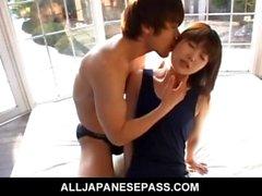 Horny teen Momoko Tabata and her boyfriend