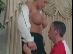 Student is crazy on his mature teacher