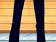 Nico Robin blowjob, ride and cumshot with Sanji (One Piece)