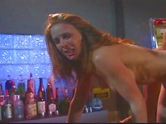 Sexy Veronika is the ultimate bar slut