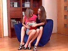 Skinny Lesbians Babes Anal Invasion,By Blondelover.