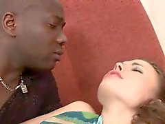 Hawt interracial oral pleasure