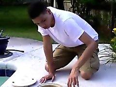 Филиппинец мальчик-гей в кулак и мужские кусок гей фистинга Дамиана õpe