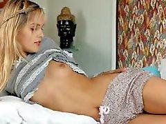 zoete sasha vinger haar anale