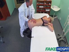 FakeHospital Blonde babe fucked by her doctor