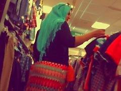 Da culo del hijab Dea con grasso di