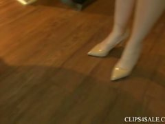 Real Estate Agent Amanda Bryant Seals The Deal With Under The Table Footjob