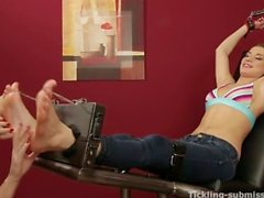 angelica fox tickled