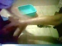 Padrona egiziano vuole leccare punta dei piedi