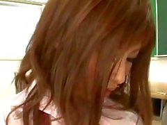 Hot Schoolgirl Sucking Schoolguy Licked Squirting While Fingered Fucked Facial On The Desk In The Classroom