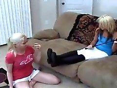 Con los pies Lesbian 20