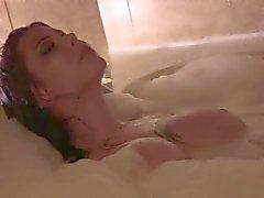 Candle lit hot tub dip... Lexi Rose