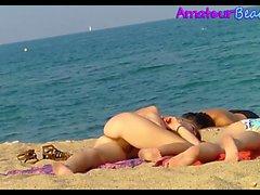 Voyeur NUDE Beach Amateurs Babes Spy Video