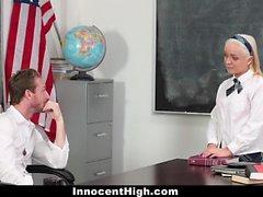 InnocentHigh - Naughty Schoolgirl Is A Teachers Pet