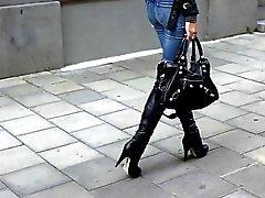 Overknees - Jeans