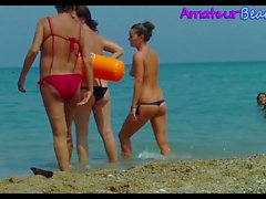 Compilation Topless Amateur Beach Voyeur Teens