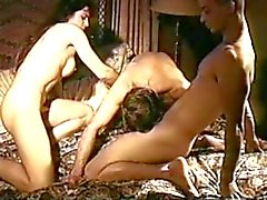 Vintage biseksuele MMF trio