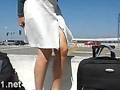 Exhibition dans un avion