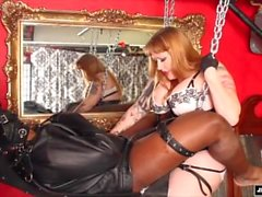 Pegging Leather Sling Julie Simone C4S #9861
