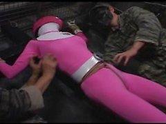 Japani pinkki Heroine Kutittaminen