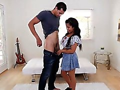 ExxxtraSmall Cute Ebony Teen Fodido Por Big Cock