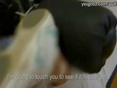 Amatör Çek kız kıçını gösterir vespor salonunda çarptı