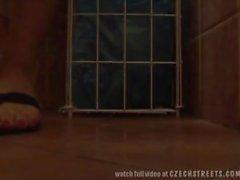 CZECH STREETS - Amazing SEX in Pub Toilets