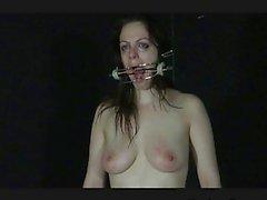 Estreme ad ago la tortura della Amatoriali Slavegirl Beau