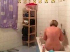 ma mère grassouillet à la caméra cachée
