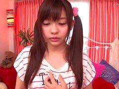 Japanese teenie nipples licking