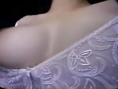 Attractive Oriental lady with big boobs enjoys a hard dick